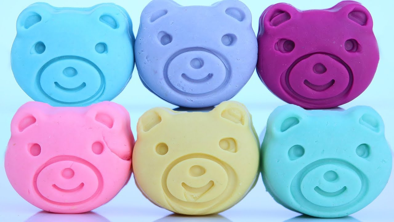 Rare Pastel Dough Pigy Bear Learn Colors Play Doh Donuts Mighty Toys - Rare Pastel  Dough Pigy Bear Learn Colors Play Doh Donuts Mighty Toys