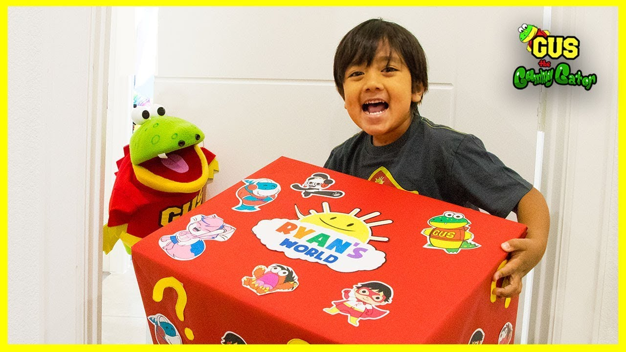 Ryans World Toy Delivery from Ryan ToysReview with Surprise Toys - Ryan's World Toy Delivery from Ryan ToysReview with Surprise Toys