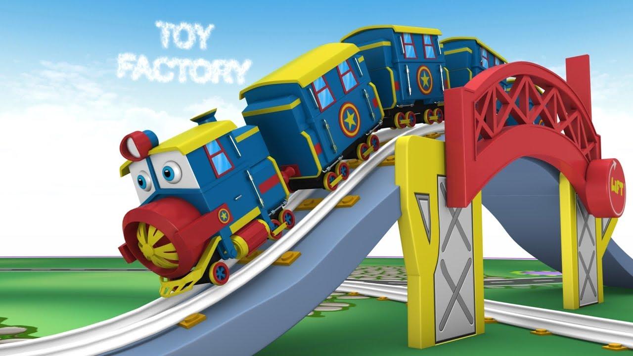 Thomas Cartoon Trains Toy Factory Cartoon Trains for Kids Toy Train Cartoon Toys for Kids - Thomas Cartoon - Trains - Toy Factory Cartoon - Trains for Kids -  Toy Train Cartoon - Toys for Kids
