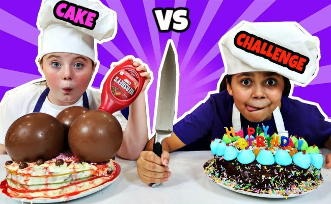 Birthday Cake Challenge Toys And Games