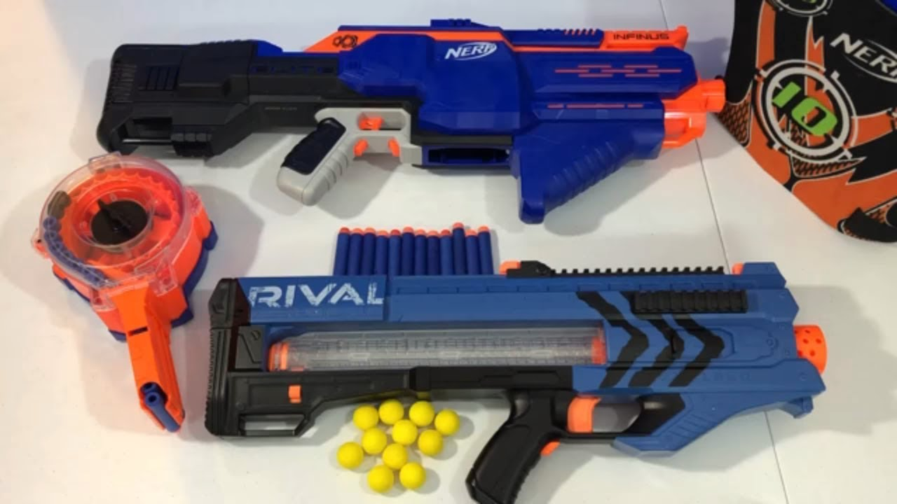Lots of Toy Guns for Kids Nerf Guns Rival N Strike Elite Infinus - Lots of Toy Guns for Kids Nerf Guns Rival N Strike Elite Infinus