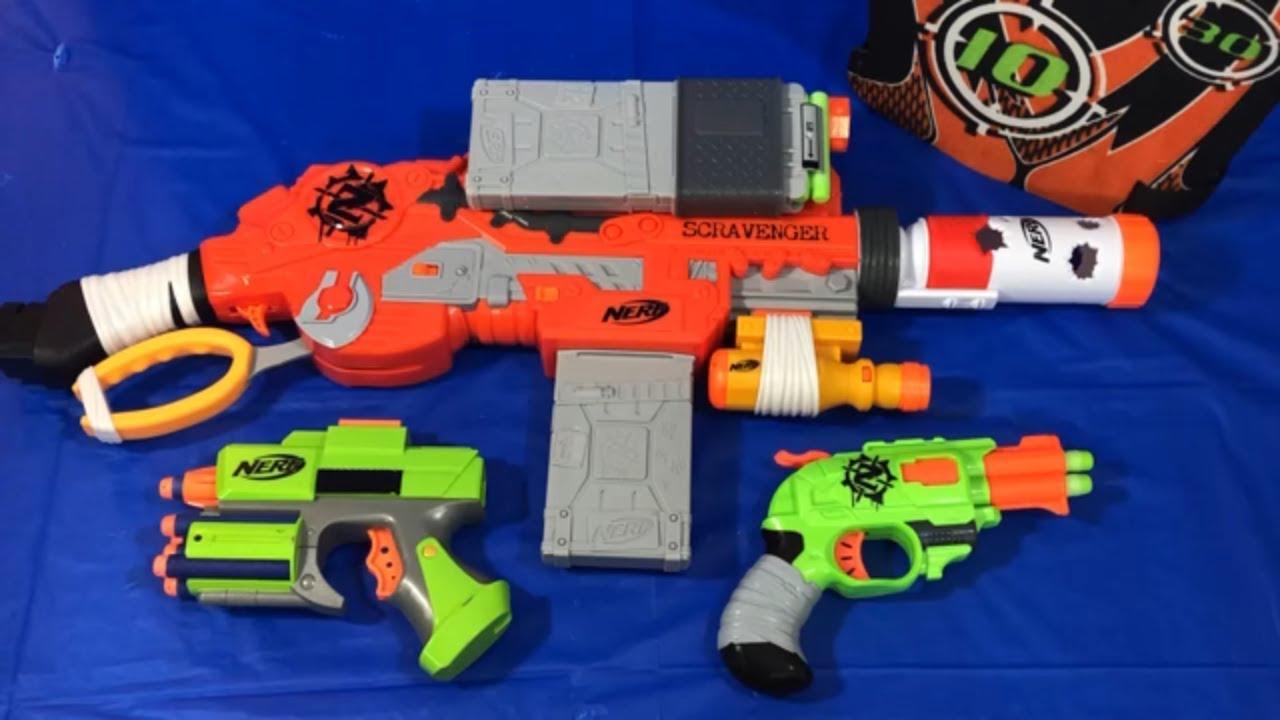 Nerf Box of Toys Zombie Strike Scravenger Toy Weapons Toy Guns - Nerf Box of Toys Zombie Strike Scravenger Toy Weapons Toy Guns