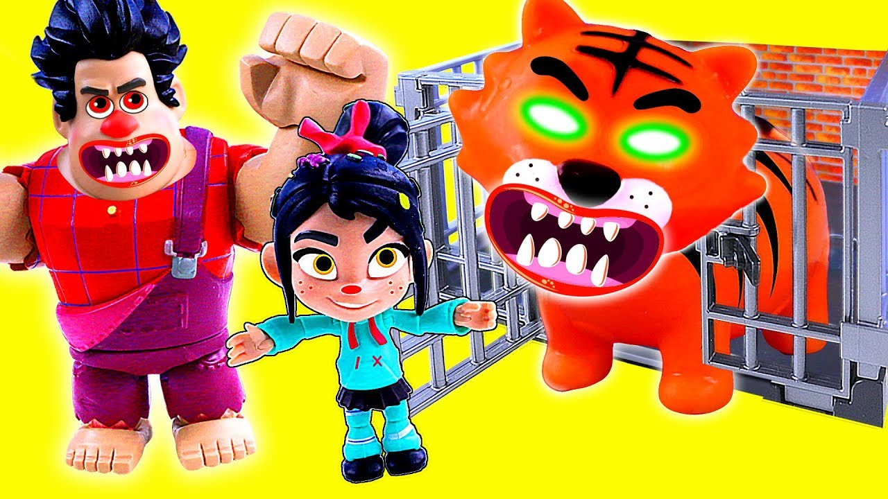vbp 11748 Toy WRECK IT RALPH Toys Go To ZOO - Toy WRECK IT RALPH Toys Go To ZOO