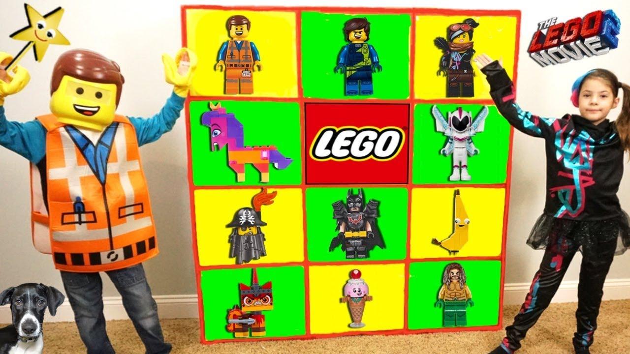 THE LEGO MOVIE 2 Giant Smash Surprise Toys Wall Game LEGO 2 MOVIE TOYS - THE LEGO MOVIE 2 Giant Smash Surprise Toys Wall Game LEGO 2 MOVIE TOYS