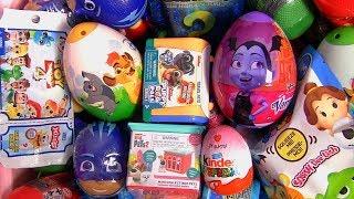 Kinder egg Toy Story 4 Toys Vamparina Puppy Dog Pals PJ Masks toy surprise - Kinder egg Toy Story 4 Toys Vamparina Puppy Dog Pals PJ Masks toy surprise