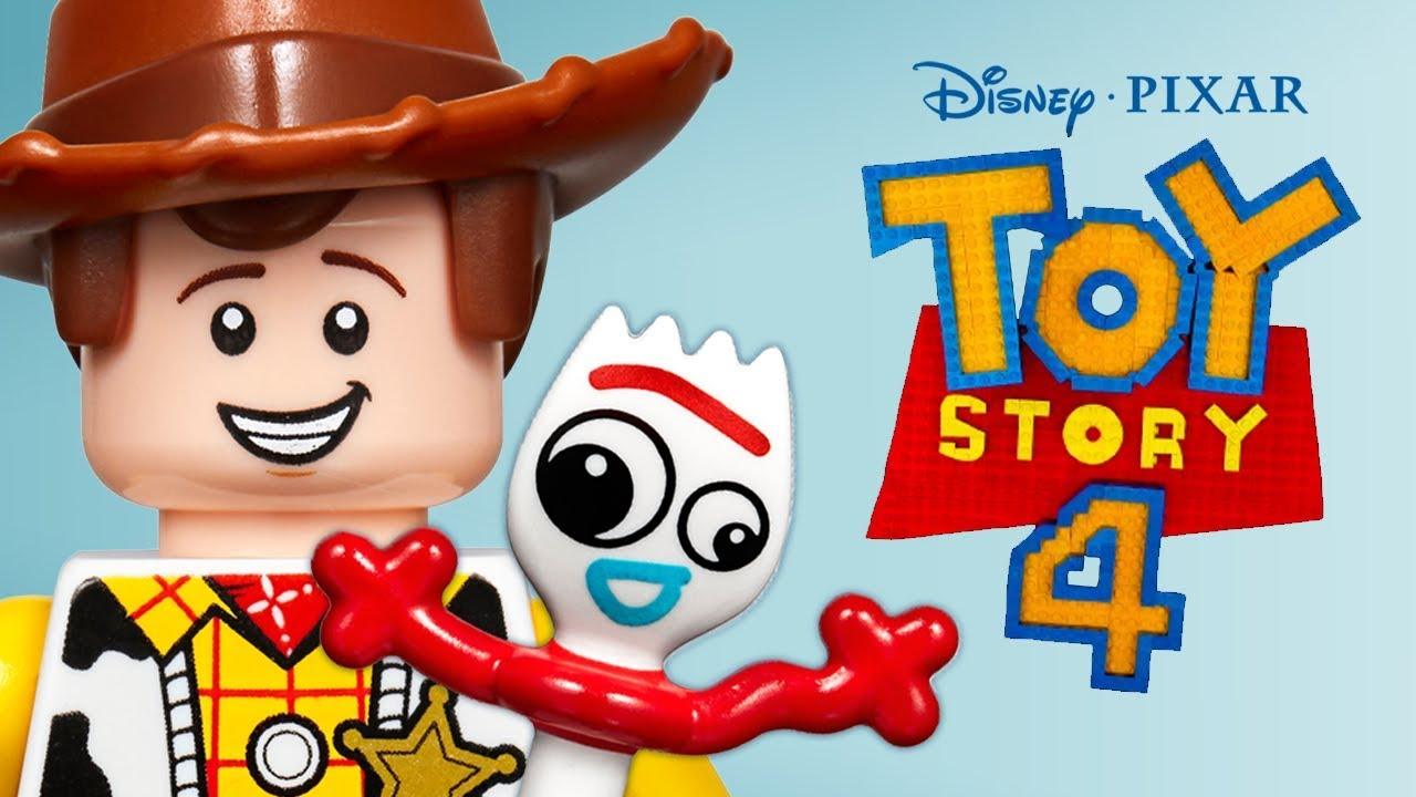 LEGO Disney Pixar Toy Story 4 Forkys Rescue As Told With LEGO Bricks - LEGO Disney Pixar Toy Story 4 - Forky's Rescue - As Told With LEGO Bricks