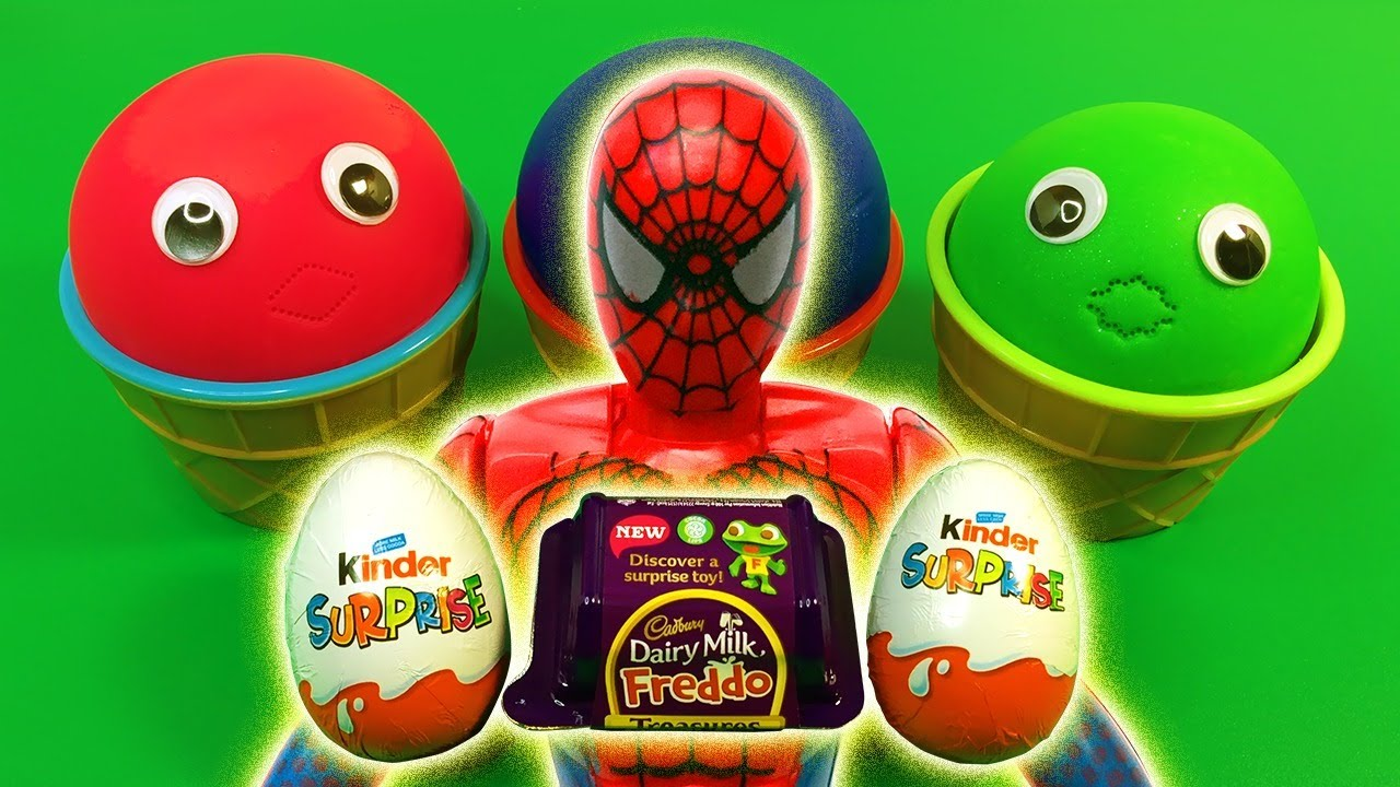 Marvel Avengers Surprise Toys Kinder Surprise Eggs Learn Colors - Marvel Avengers Surprise Toys   Kinder Surprise Eggs   Learn Colors