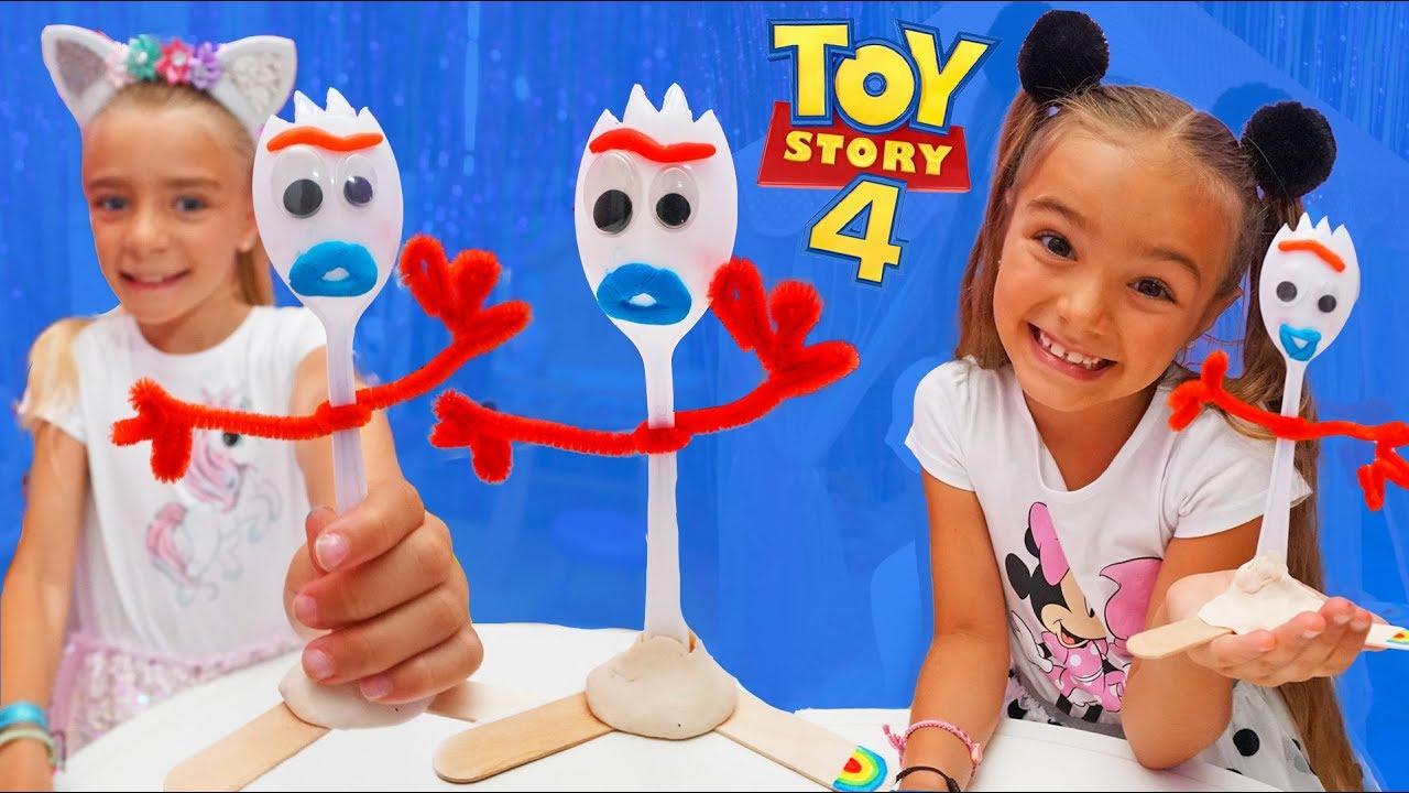 Como se hace a forky de toy story 4 las ratitas - Como se hace a forky de toy story 4 las ratitas