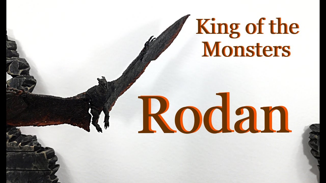 Neca Toys Godzilla King of The Monsters RODAN Action Figure Toy Review - Neca Toys Godzilla: King of The Monsters RODAN Action Figure Toy Review