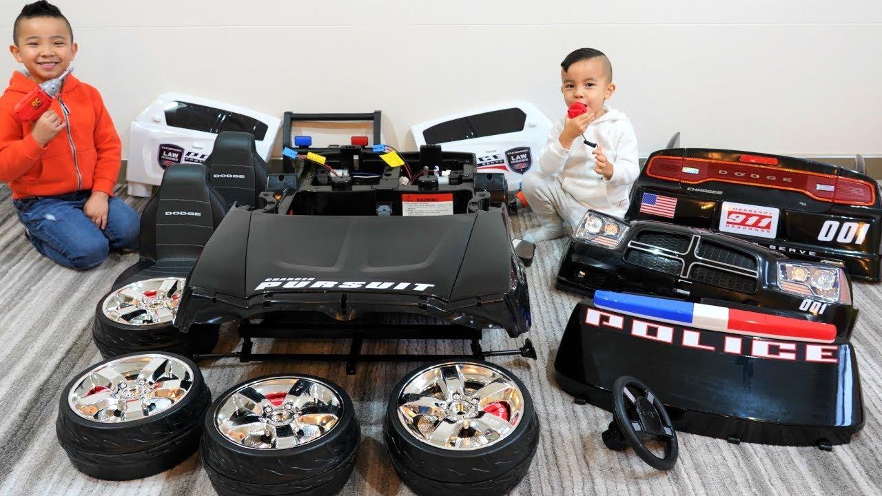 POLICE CAR Ride On Racing Fun With CKN Toys - POLICE CAR Ride On Racing Fun With CKN Toys