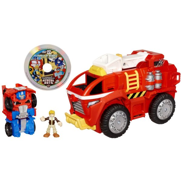 Mobile Headquarters With Optimus Prime And Cody Burns - Transformers Toys Tfw2005