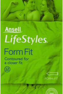 ansell condoms form fit 12 pack