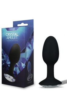 BUTT PLUG CRYSTAL AMULET SMALL