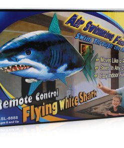 Zhenwei Remote Control Flying Fish Inflatable Helium Shark Clown Fish Electric Inflatable Toys Air Swimmer Toys