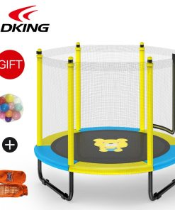 ADKING Inch Trampoline with Enclosure For Child Foldable Design Indoor Outdoor Exercise Jumping Bed for kids
