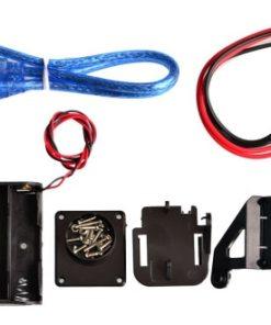 New Avoidance tracking Motor Smart Robot Car Chassis Kit Speed Encoder Battery Box WD Ultrasonic module