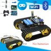 T Bluetooth Handle WiFi RC Control Robot Tank Chassis Car Kit with UNO R Development Board