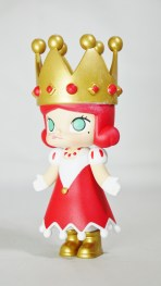 Pop Mart Kennyswork MOLLY CHESS CLUB CHECKMATE QUEEN RED 03