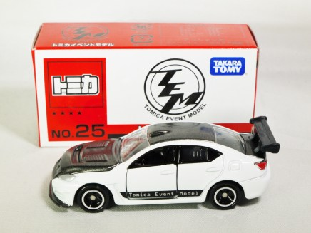 Tomica Event Model LEXUS IS F CCS-R No. 25 Special Edition - White Black -07