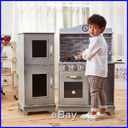 play kitchens for boys affordable kitchen table sets girls toddler kids wood pretend cooking set cottage s