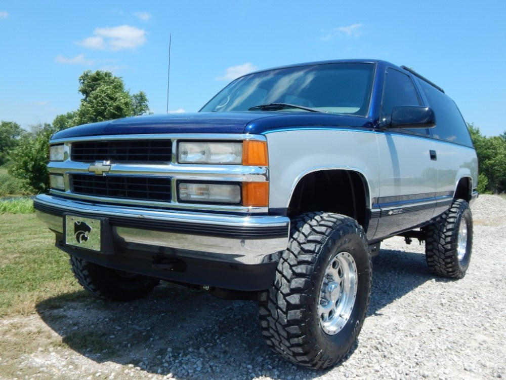 medium resolution of clint silver u2013 1996 chevy 2 door tahoe 001
