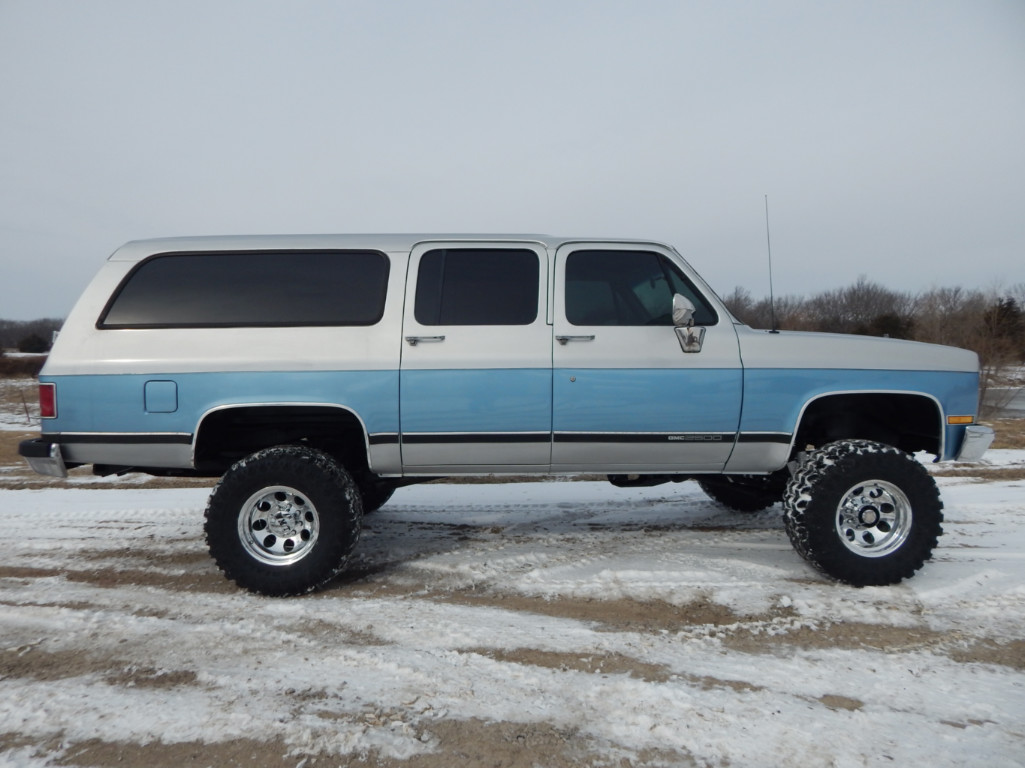 hight resolution of  clint silver 1989 gmc suburban 2500 5