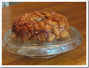 Monkey Bread, guest blogger