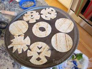 Snow Flake Tortilla Chips