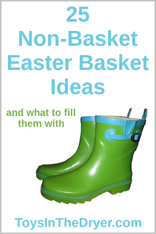Non basket easter basket ideas toysinthedryer non basket easter basket negle Choice Image
