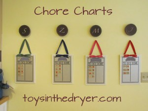 Chore Chart and Rewards