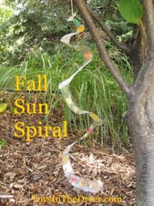 fall sun spiral