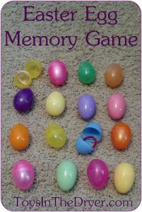 Easter, Easter activities, memory game, activities with Easter eggs
