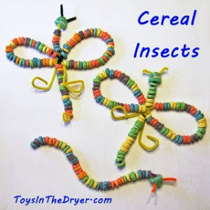 Insects Made From Cereal