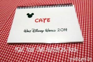 Disney Autograph books, Disney, crafts for Disney