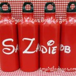 Make your own water bottles, personalized water bottles, Disney water bottles