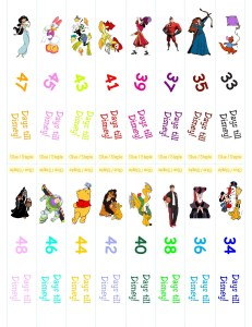 Disney Countdonw Chain 1.13(1) 4