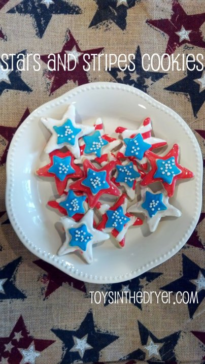 4th of July, 4th of July desserts, patriotic desserts, patriotic cookies