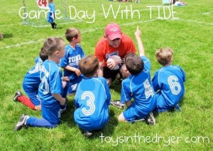 Tide, Game Day With Tide, Tide Detergent, Tide Reviews