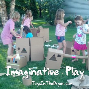 Imaginative Play With Play From Scratch #Spon