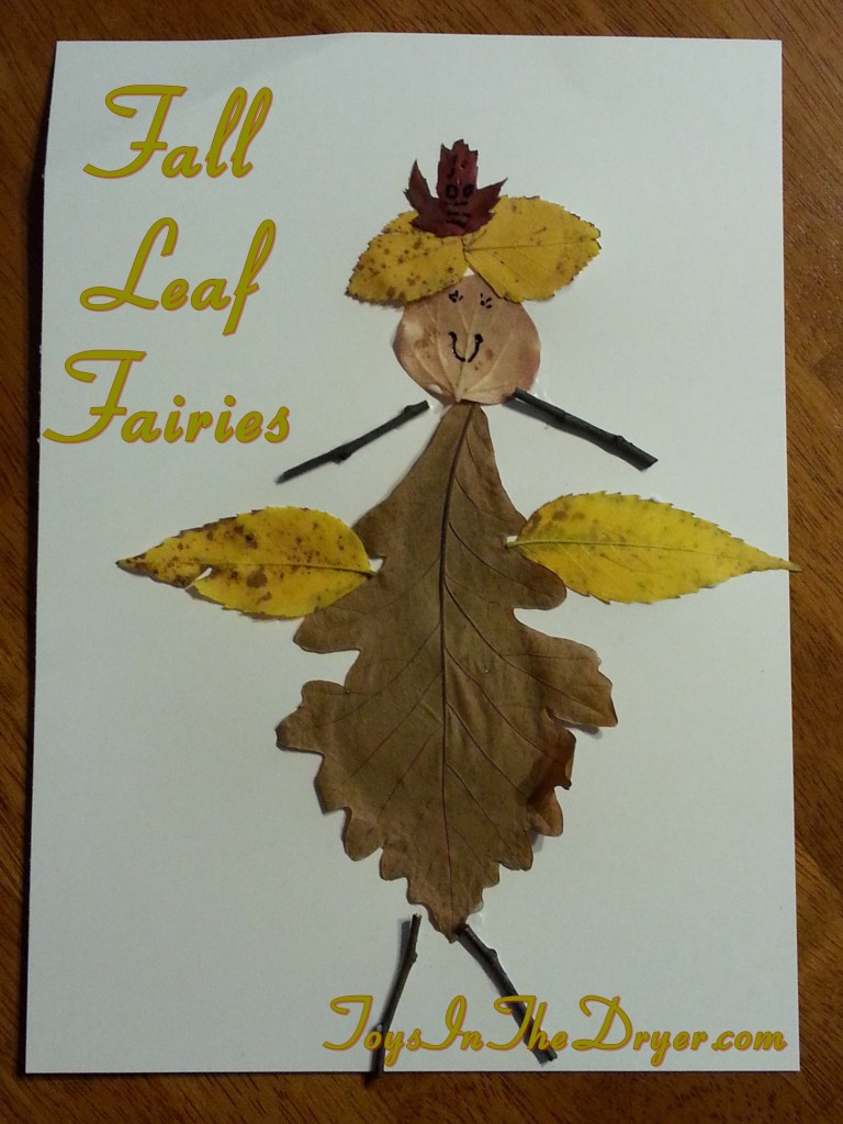 fall leaf fairies, fall leaf craft