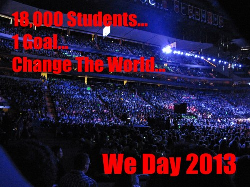 Free The Children We Act We Day