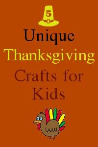 unique Thanksgiving crafts