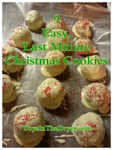 9 Easy, Last-Minute Christmas Cookies
