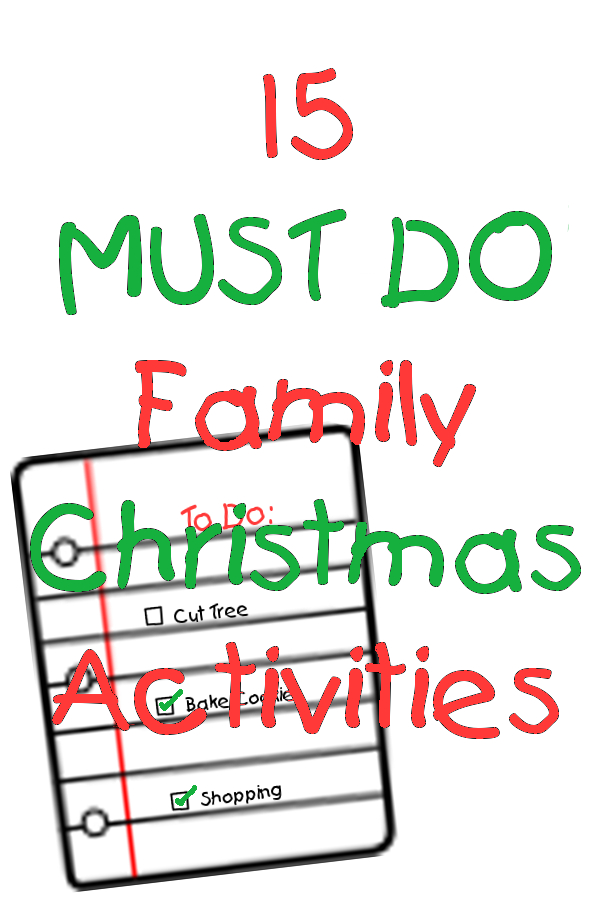 must do family christmas activities