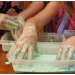 corn starch and water