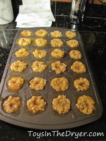 Salted Caramel Krispie Bites 4