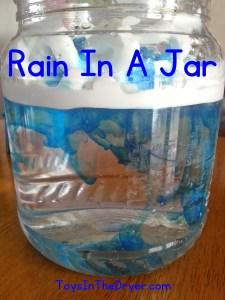 Rain Storm In A Jar