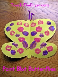 Paint Blot Butterfly