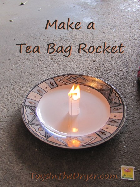 Tea Bag Rocket