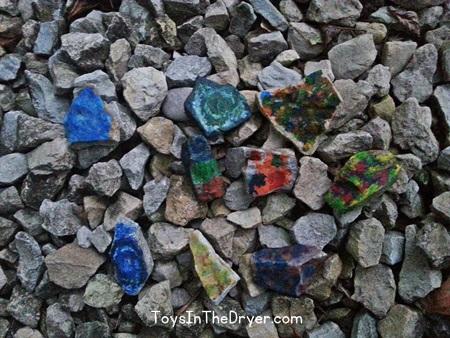 wax rocks